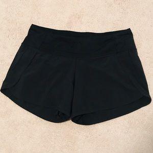 Black Lululemon Workout Shorts